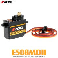 EMAX (ES08MDII) Mini Size Metal Gear 12g Digital Servo 1.6KG 0.12sec