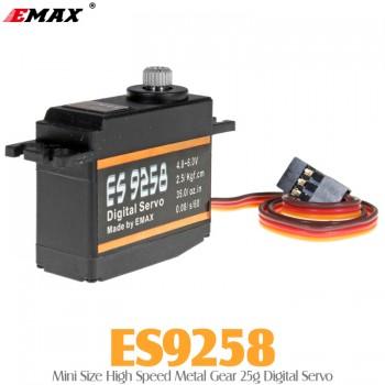 EMAX (ES9258) Mini Size High Speed Metal Gear 25g Digital Servo 2.5KG 0.08secMini Servos