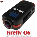 HAWK-EYE Aerial Video Technology Firefly Q6 4K FPV UHD Sport Camera (Black)