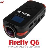 HAWK-EYE Aerial Video Technology Firefly Q6 4K FPV UHD Sport Camera (Black)