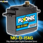 Fusonic (MG-D-15KG) 15kg Metal Gear Digital Standard Servo