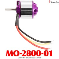 Dragonsky (MO-2800-01) 2800 KV Brushless Motor