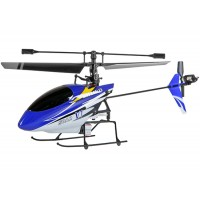 Nine Eagles (NE-30226024022) 4CH SOAR V1 (SOLO PRO V-260A) Micro Helicopter without transmitter (Blue) - 2.4GHz