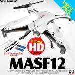 Nine Eagles MASF12 Galaxy Visitor 3 Value Pack (Black White, Mode 2)