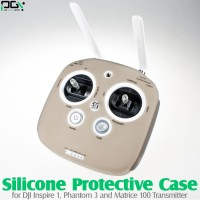 PGY (PGY-INSPIRE1-P3-TX-SPC-GY) Silicone Protective Case for DJI Inspire 1, Phantom 3 and Matrice 100 Transmitter (Grey)