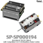 Speed Passion (SP-SP000194) Reventon-R 70A ESC (Silver) with Competition V3.0 13.5R Brushless Motor Combo