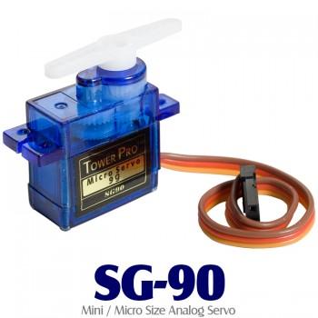 TowerPro SG-90 (9G) Mini / Micro Size Analog Servo 9G 1.5KG 0.3sec