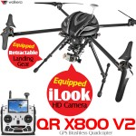 WALKERA QR X800 V2 GPS Quadcopter with DEVO F12E