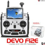 WALKERA DEVO F12E 5 Inches LCD 5.8G FPV Transmitter (Cartoned)