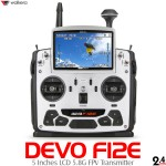 WALKERA DEVO F12E 5 Inches LCD 5.8G FPV Transmitter with Aluminum Case