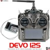 Walkera (WK-DEVO12S-TXRX) Devention 2.4 GHz Transmitter w/ RX1202 Receiver and Aluminum Case