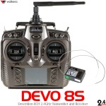 Walkera (WK-DEVO8S-TXRX) Devention 8S 2.4 GHz Transmitter w/ RX802 Receiver