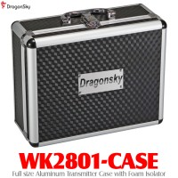 DragonSky (WK2801-CASE) Full size Aluminum Transmitter Case with Foam Isolator