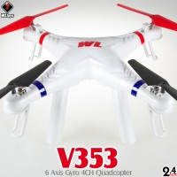 WLTOYS V353 Galaxy Quadcopter RTF (White, Mode 2)