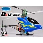 Skyartec (HWH05-2) Belt 250 6CH Metal Upgraded 3D Fiber Glass Brushless Helicopter RTF - 2.4GHz
