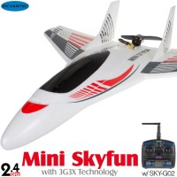 Skyartec (MNFJ3X-01) Mini Skyfun EPO 3G3X Flight-Stabilization System 3CH Brushless Airplane ARTF - 2.4GHz