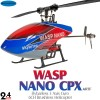 Skyartec (MNH03-2) WASP 100 Brushless NANO CPX Flybarless 3 Axis Gyro 6CH Helicopter without Transmitter ARTF - 2.4GHzSkyartec Helicopters