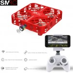 SMRC M8HS 1602(WH) QUADBOX drones with FPV WIFI HD camera - Altitude hold Remote Control App Version RC quadrocopter