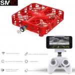 SMRC M8HS 1602(WH) QUADBOX drones with FPV WIFI HD camera - Altitude hold Remote Control App Version RC quadrocopter