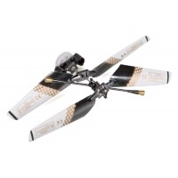 SH (SH-6020-1-HEAD-BK) 6020-1 Swift 3CH Helicopters Complete Rotor Head Assembly Set (Black)
