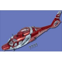Walkera (HM-53QD-Z-05R) Fuselage Set Red(With Light)