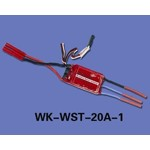 Walkera (HM-CB180Z-Z-25) Brushless Speed Controller (WK-WST-20A-1)