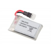 Walkera (HM-Mini-CP-Z-17) Li-po battery (3.7V 240mAh 25C)
