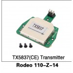 Walkera (Rodeo 110-Z-14) TX5837(CE) Transmitter