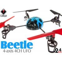 WLTOYS (WL-V929-B-M2) WL Beetle 4CH UFO RTF (Blue, Mode2) - 2.4GHz