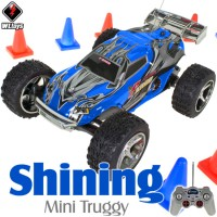 WLTOYS (WL-2019-B) Shining Mini Truggy RTR (Blue) - 49MHz