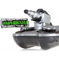 YD (WT-24883-S) Amphibious Tank w/ Water Cannon RTF - Silver